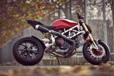 Ducati's Monster elevated to a new level in a very clever custom build.