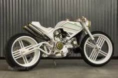 DUster Streetfighter by Yuri Shif Customs puts Belarus on the custom motorcycle map - 346686