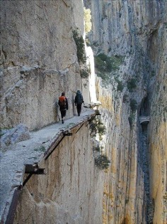 El Camino del Rey (King's Pathway,) Malaga, Spain