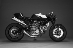 Elegant #Ducati Sport 1000 Cafe Racer by Motomo-d #motorcycles #caferacer |
