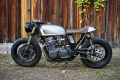 Emotional Achievement - Tyson's Honda Cafe Racer via