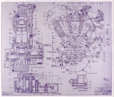 Engine drawing (1942)