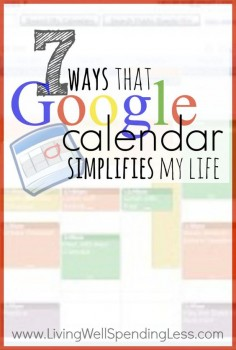 Ever feel like you can't quite keep track of all those balls you've got up in the air? Don't miss these 7 ways that Google Calendar can simplify your life and help you keep your sanity. I especially love #7!