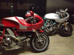 Evoluzione and Paul Smart Ducati