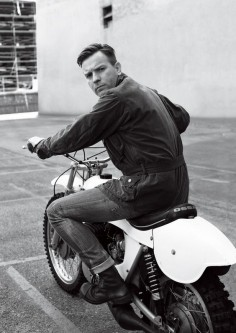 Ewan McGregor is quite possibly the biggest proponent of    Guzzi' trials  2-stroke.