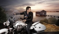 Ewan McGregor Moto Guzzi