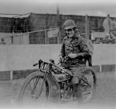Fay Taylour was among the most famous motorcyclists of the 1920's, and a champion speedway competitor. Born 1904 in Ireland, by the age of 21 she was traveling the world, racing on the incredibly popular speedway tracks in England, Australia, and New Zealand. – via the Vintagent