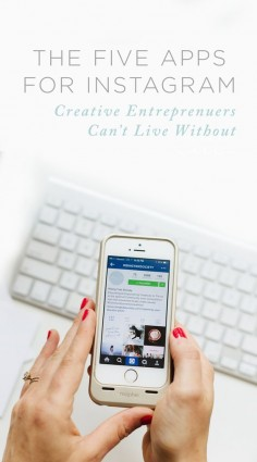 Five Simple Apps to Boost your Instagram Strategy! | Abby Grace for the Rising Tide Society