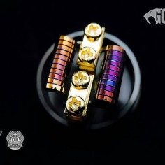 @flavour_of_vapour -  Weirdo's 🤐 #COILCONSPIRACY #goonrda #goonimagery #atomicwire #coil #coilart #coilporn #coilbuild #coilarchitect #thecoilcollective #doyouevencolorbro #vape #vapelife #vapefam #vapestagram #vapenation #vapeon #vapeporn #vapecommunity #vapesociety #instavape #ukvapefam @highlanderdr