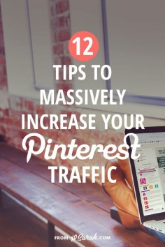 For me, this is one of THE easiest ways I've found to grow my blog and business and it generates OVER 50 PERCENT of the traffic to my site. And now that its smart feed has changed the rules a bit, it's time for another post on how to grow your blog traffic via Pinterest!