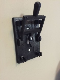 Frankenstein style light switch plate