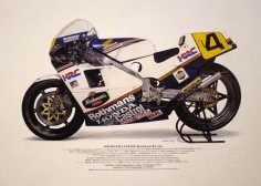 Freddy Spencer's Honda NSR500