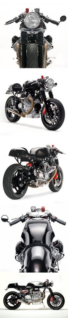 From car mechanic to Millionaire. BE ready Moto Guzzi V1100 Daytona '96 Cafe Racer