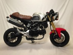 From Honda Grom to a Custom Cafe Racer