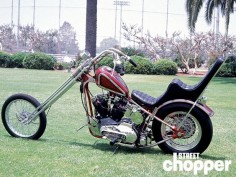 From the Street Chopper Archives / Custom Harley Sportster