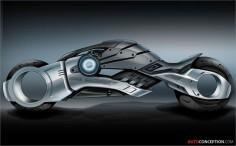 Futuristic Motorcycle, Marvel Comics Seeking Electric Bike to Star in Superhero Movie