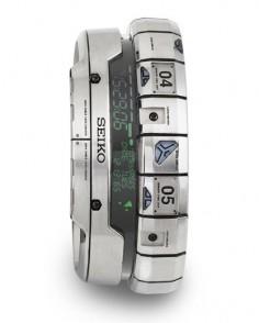 Futuristic watch from Seiko.