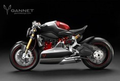 Gannet Designs: 1199 Cafe Fighter concept Is it possible to make a good-looking Ducati Panigale streetfighter?