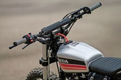 Garage Build: A custom Honda XR600R from France