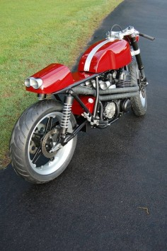 Garage Project Motorcycles — Honda CB750 Cafe Racer with an amazing amount