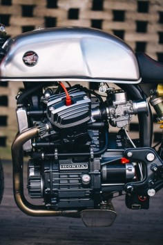 Garage Project Motorcycles : northernrooster: Sacha Lakic's Honda CX500