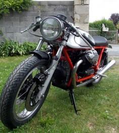GARNIER MOTORCYCLES - Guzzi 850 T3 de Michel
