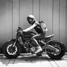 Garv's Mean Machine - Ducati Scrambler