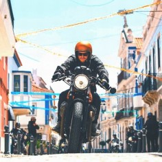 Gear | Goggles | Helmet | Leathers | Cafe Racer | Dime