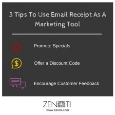 Get more sales for your #spa and #salon with these 3 email receipt #marketingtips.   #salonmarketingideas #spamarketingideas #emailmarketingideas #emailpromotions #marketingideas