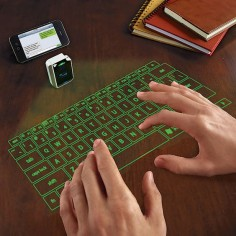 GREEN! This Virtual Keyboard | 18 Gadget Gift Ideas From The Depths Of The Internet