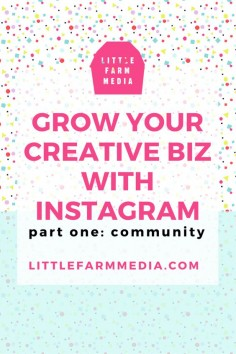Grow Your Creative Business with Instagram - Learn how to grow your community on Instagram.