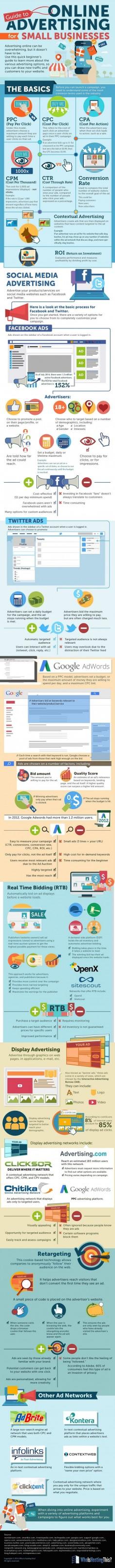 Guide To #InternetAdvertising For Small Businesses - #Socialmedia