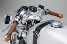"""""""Guillaume"""" Moto Guzzi. Le Mans."""