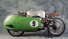 'Guzzi Otto; Yes, there's a V8 motorcycle: a remarkable racer produced by the iconic Italian brand Moto Guzzi.