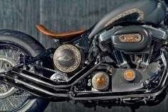 "Harley ""48"" Sportster - ""Rajmata"" by Rajputana Customs, India."
