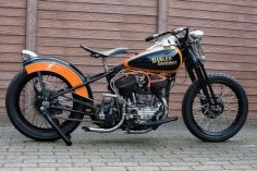 harley davidson | 1948 Harley Davidson WL45 Classic Motorcycle Pictures