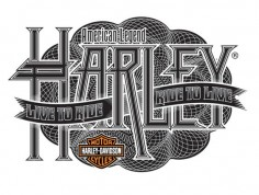 Harley-Davidson® Apparel by Bobby Haiqalsyah, via Behance