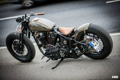 Harley Davidson Bobber By Freakie Motorcycles #motorcycles #bobber #motos |