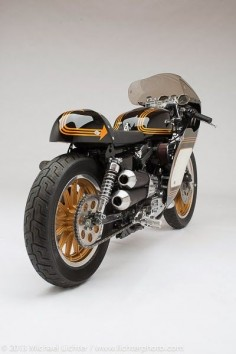 Harley-Davidson Cafe Racer #motorcycles #caferacer #motos |