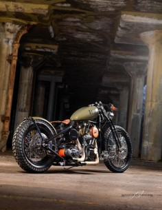 Harley Davidson Custom shovelhead bobber chopper