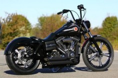Harley Davidson Fxdb Streetbob This Long Branch Custom | Harley ...