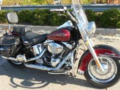 Harley Davidson Motorcycles Heritage Softail | RED/BLACK 2005 Harley-Davidson Heritage Softail in Columbia, SC