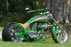 harley davidson shovel head custom bike chopper prosteet show bike ...
