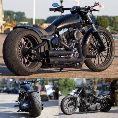 Harley-Davidson Softail Breakout by Thunderbike