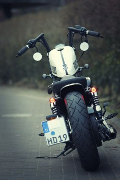 Harley Davidson Sportster 48 XL 1200X forty eight Umbau - repinned by