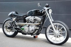 Harley Dyna FXDL Café Racer