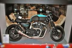 Harley Sportster - Stile Italiano - Inazuma Cafe Racer