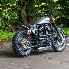 HARLEY XL883R BY SHAW SPEED & CUSTOM