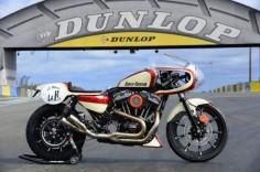 #HarleyDavidson Cafe Racer #motorcycles #caferacer #motos |