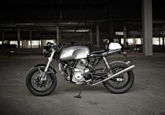 Hearty's Ducati GT1000 Cafe Racer